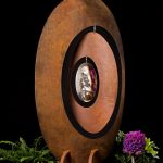 Oval Wind Catcher Garden Sculpture
